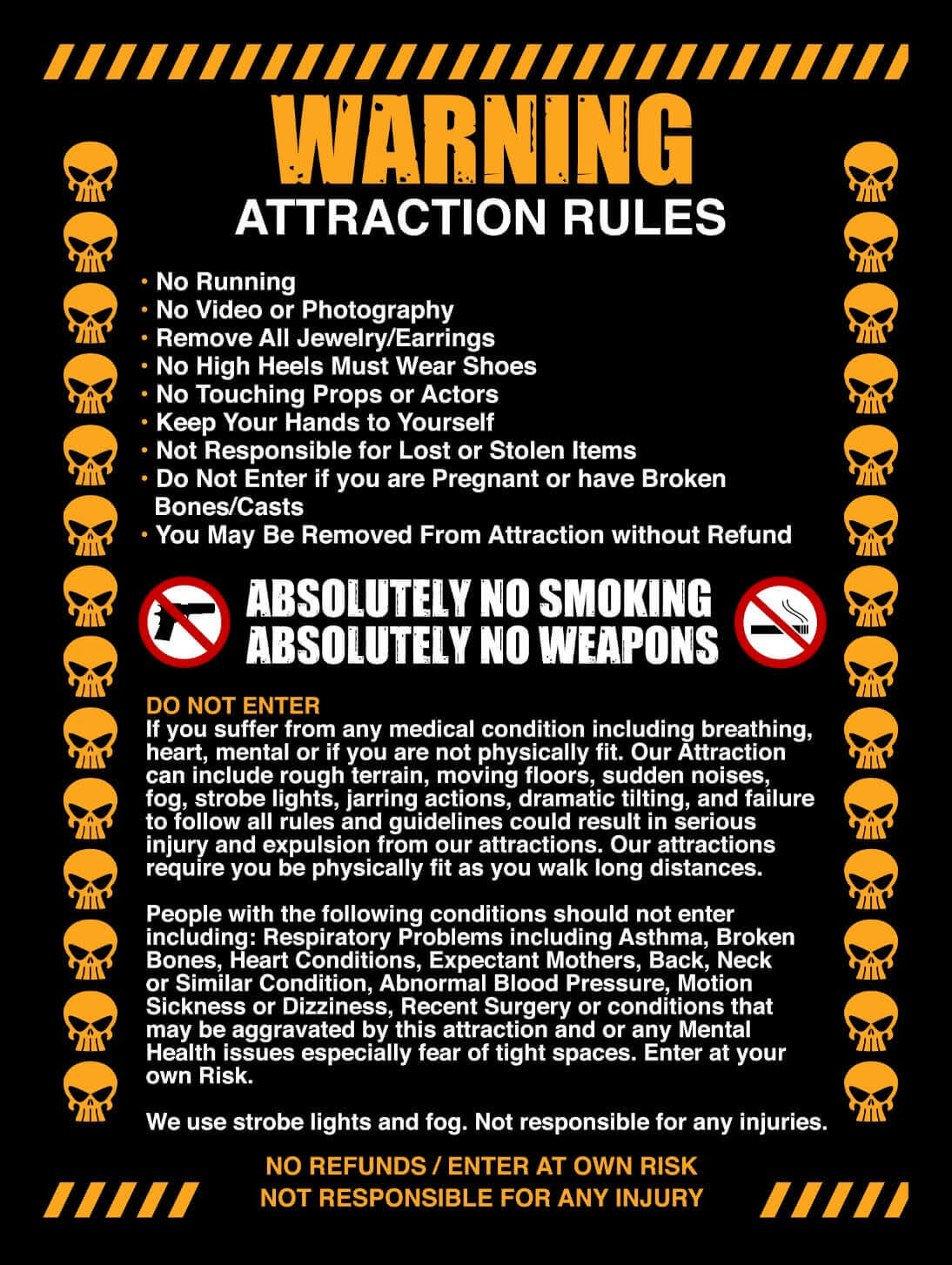 Rules & Warnings